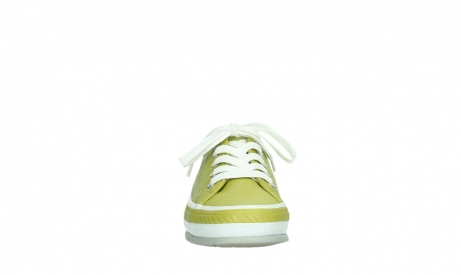 wolky chaussures a lacets 01230 linda 30710 cuir vert olive_7