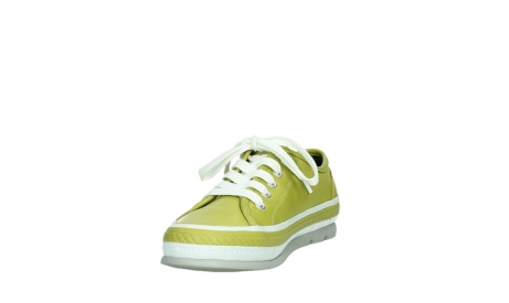 wolky chaussures a lacets 01230 linda 30710 cuir vert olive_9