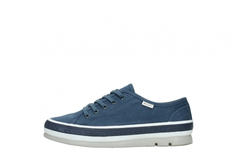 wolky chaussures a lacets 01230 linda 96830 toile bleu_1