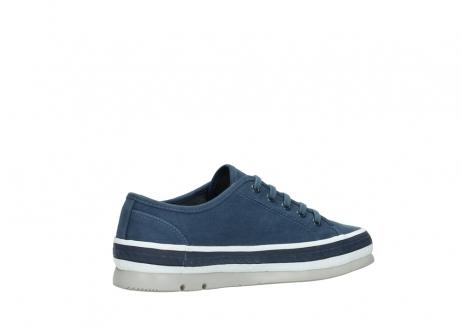 wolky chaussures a lacets 01230 linda 96830 toile bleu_11