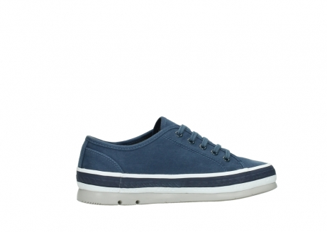 wolky chaussures a lacets 01230 linda 96830 toile bleu_12