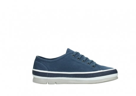 wolky chaussures a lacets 01230 linda 96830 toile bleu_13