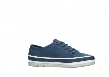 wolky chaussures a lacets 01230 linda 96830 toile bleu_14