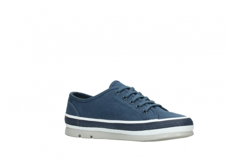 wolky chaussures a lacets 01230 linda 96830 toile bleu_15