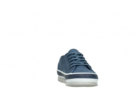 wolky chaussures a lacets 01230 linda 96830 toile bleu_18