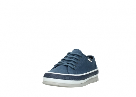 wolky chaussures a lacets 01230 linda 96830 toile bleu_21