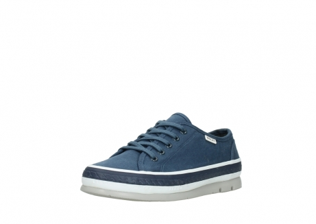 wolky chaussures a lacets 01230 linda 96830 toile bleu_22