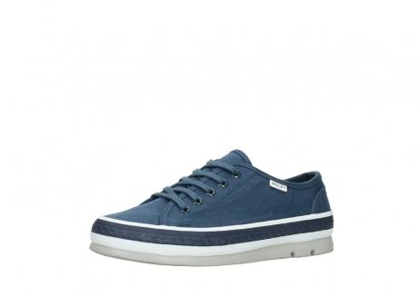 wolky chaussures a lacets 01230 linda 96830 toile bleu_23