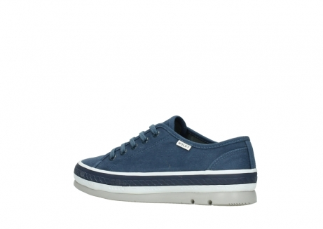 wolky chaussures a lacets 01230 linda 96830 toile bleu_3