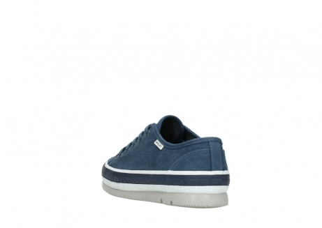 wolky chaussures a lacets 01230 linda 96830 toile bleu_5