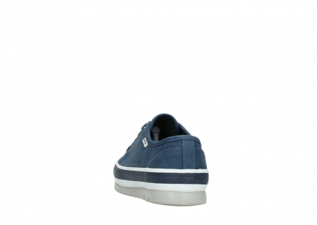 wolky chaussures a lacets 01230 linda 96830 toile bleu_6