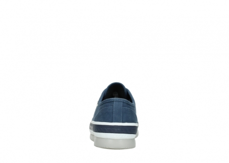 wolky chaussures a lacets 01230 linda 96830 toile bleu_7