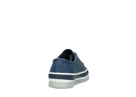 wolky chaussures a lacets 01230 linda 96830 toile bleu_8