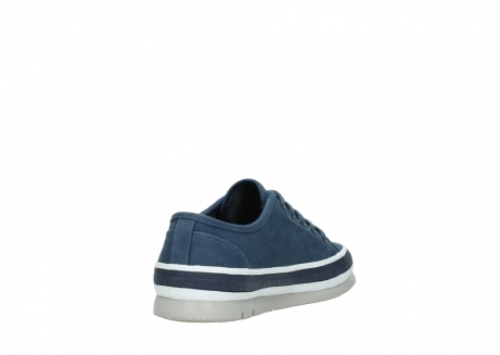 wolky chaussures a lacets 01230 linda 96830 toile bleu_9