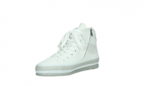 wolky bottines a lacets 01231 fabiana 30100 cuir blanc_10