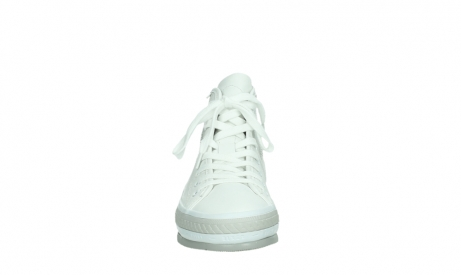 wolky bottines a lacets 01231 fabiana 30100 cuir blanc_7