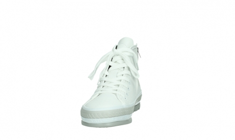 wolky bottines a lacets 01231 fabiana 30100 cuir blanc_8