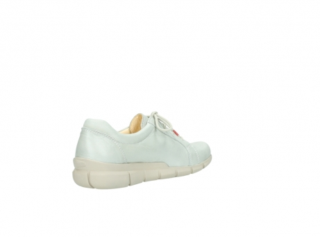 wolky chaussures a lacets 01510 pima 80120 cuir blanc casse_10