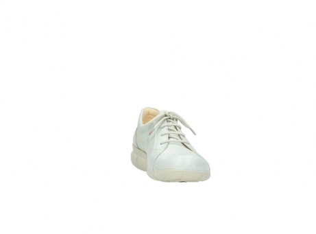 wolky chaussures a lacets 01510 pima 80120 cuir blanc casse_18