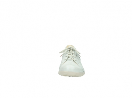 wolky chaussures a lacets 01510 pima 80120 cuir blanc casse_19
