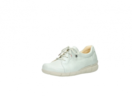 wolky chaussures a lacets 01510 pima 80120 cuir blanc casse_22