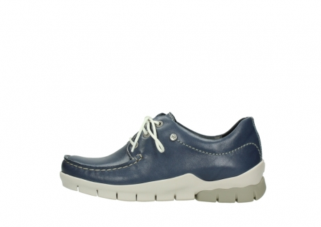 wolky chaussures a lacets 01750 natalia 70870 cuir bleu_1