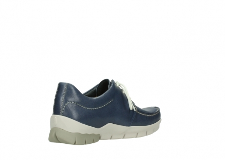 wolky chaussures a lacets 01750 natalia 70870 cuir bleu_10