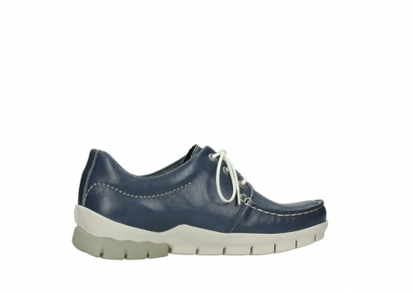 wolky chaussures a lacets 01750 natalia 70870 cuir bleu_12