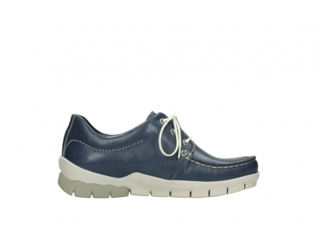 wolky chaussures a lacets 01750 natalia 70870 cuir bleu_13