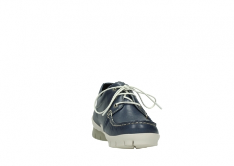 wolky chaussures a lacets 01750 natalia 70870 cuir bleu_18