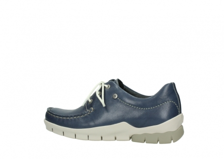 wolky chaussures a lacets 01750 natalia 70870 cuir bleu_2