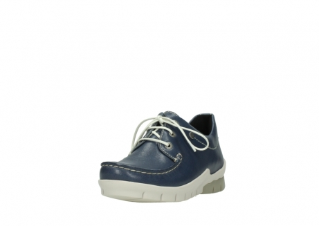 wolky chaussures a lacets 01750 natalia 70870 cuir bleu_21