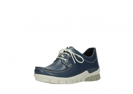 wolky chaussures a lacets 01750 natalia 70870 cuir bleu_22