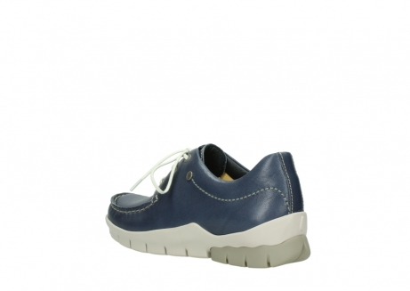 wolky chaussures a lacets 01750 natalia 70870 cuir bleu_4