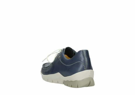 wolky chaussures a lacets 01750 natalia 70870 cuir bleu_5
