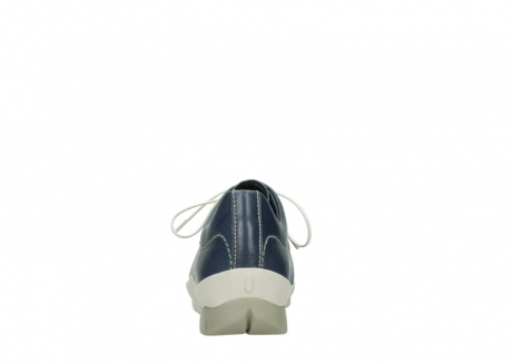 wolky chaussures a lacets 01750 natalia 70870 cuir bleu_7