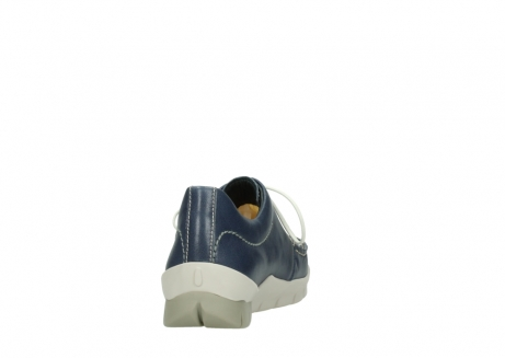 wolky chaussures a lacets 01750 natalia 70870 cuir bleu_8