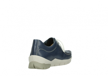 wolky chaussures a lacets 01750 natalia 70870 cuir bleu_9