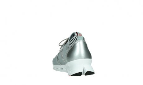 wolky chaussures a lacets 02052 tera 90201 cuir gris argente_18