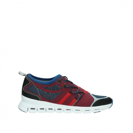 wolky chaussures a lacets 02054 nero 90580 rouge bleu
