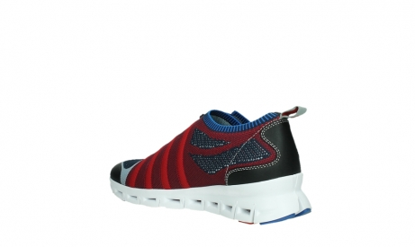 wolky chaussures a lacets 02054 nero 90580 rouge bleu_16