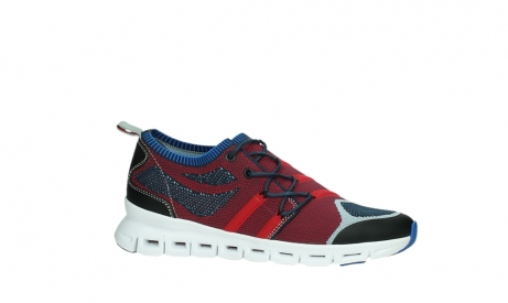 wolky chaussures a lacets 02054 nero 90580 rouge bleu_2