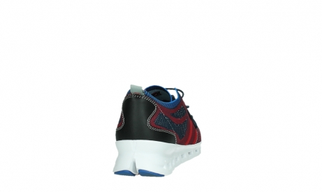 wolky chaussures a lacets 02054 nero 90580 rouge bleu_20