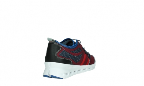 wolky chaussures a lacets 02054 nero 90580 rouge bleu_21