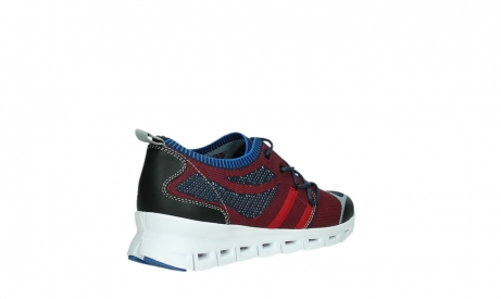 wolky chaussures a lacets 02054 nero 90580 rouge bleu_22
