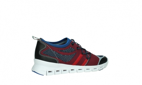 wolky chaussures a lacets 02054 nero 90580 rouge bleu_23