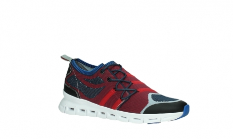 wolky chaussures a lacets 02054 nero 90580 rouge bleu_3