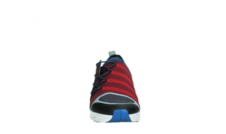 wolky chaussures a lacets 02054 nero 90580 rouge bleu_7