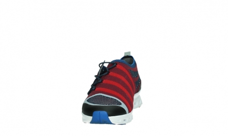 wolky chaussures a lacets 02054 nero 90580 rouge bleu_8