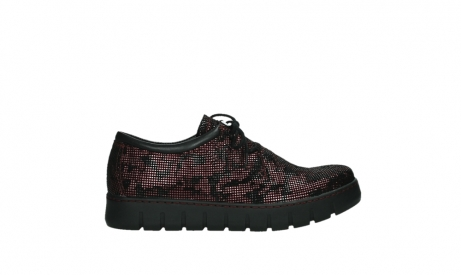 wolky chaussures a lacets 02325 vic 47505 daim rouge_1